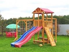 Детская деревянная площадка  для дачи «Мадрид 7»