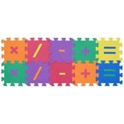 """Funkids / """"Символы-1"""" / Игровой коврик-пазл 6"""" с символами толщина 15 мм (10 частей)"""
