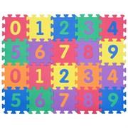 "Funkids / ""Цифры-4"" / Игровой коврик-пазл 6"" с цифрами толщина 15 мм (20 частей)"