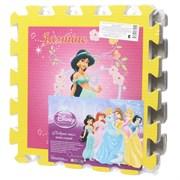"""Коврик-пазл """"Disney Принцесса"""" 6 элементов, каждый 31,5х31,5см"""