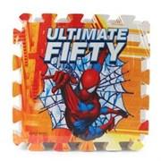 """Коврик-пазл """"Человек паук"""" 8 элементов, каждый 31,5х31,5см"""