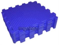 Мягкий теплый пол BABYPUZZ плиты 33х33х1см синий