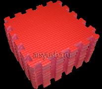 Мягкий теплый пол BABYPUZZ плиты 33х33х2 см красный