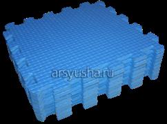 Мягкий теплый пол BABYPUZZ плиты 33х33х1см голубой