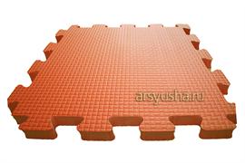 Мягкий теплый пол BABYPUZZ плиты 50х50х2,5 см оранжевый