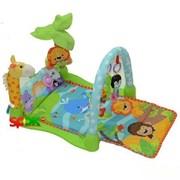 Игровой музыкальный коврик Африка Bertoni (Lorelli Toys)