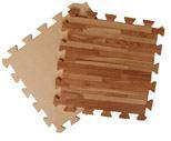 Мягкое напольное покрытие 30*30*1 см Паркет