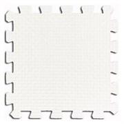 Мягкое напольное покрытие 50*50*2,5 см цвет Белый