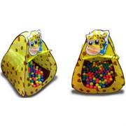 """CBH-11 Игровой домик """"Жираф"""" + 100 шариков CBH-11"""