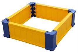Ограждение для игры с песком квадратное 70х70х21 см