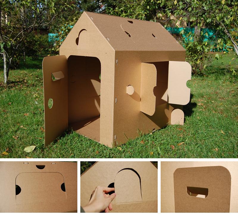 Дома сделанные своими руками из картона