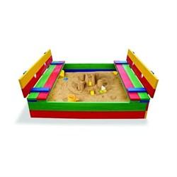 Песочница-11 (детская песочница цветная) - фото 10268