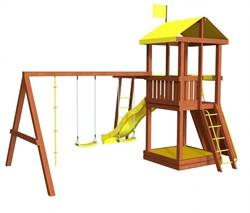Детская площадка для дачи «Джунгли 4Р» - фото 10539