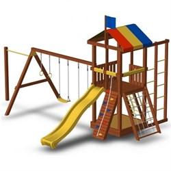 Детская площадка для дачи «Джунгли 6СТ» - фото 10543