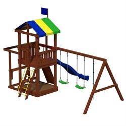 Детский игровой комплекс «Джунгли 8» - фото 10545