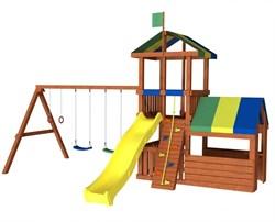 Детский игровой комплекс для дачи «Джунгли 8М» - фото 10546