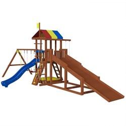 Детская площадка «Джунгли 9  с зимней горкой» - фото 10550