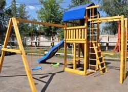 Детская деревянная площадка для дачи «Мадрид 33» - фото 10585