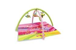 """Игровой развивающий коврик """"Сказка"""" розовый (Lorelli Toys) - фото 11823"""