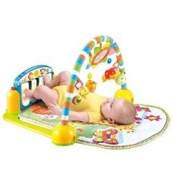 """Игровой коврик """"Музыкальный"""" с пианино (Lorelli toys), синий - фото 11828"""