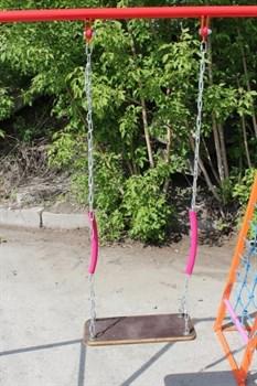 Качели для БОГАТЫРЬ на цепях с подшипниками - фото 12438
