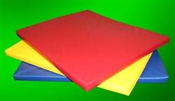 Мат для ДСК 100х120 см, толщ. 5 см ис.кожа - фото 12457