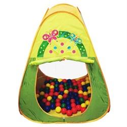 """CBH-20 Игровой домик """"Треугольный"""" + 100 шариков CBH-20 - фото 12525"""