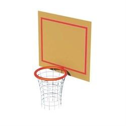 Кольцо баскетбольное со щитом - фото 12798
