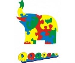 Коврик «Слон» 81х85 - фото 14046