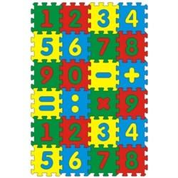 Коврик с цифрами 24 дет. 56х84 - фото 14051