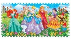 """Коврик-пазл """"Принцессы"""" 8 элементов, каждый 31,5х31,5см - фото 17451"""