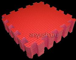 """Коврик-пазл BABYPUZZ (9 плит 33x33x1см, ~1кв.м./уп) """"Красный"""" - фото 17995"""