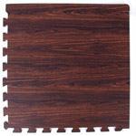 Мягкий пол 50*50*1 см Тёмный орех - фото 18193