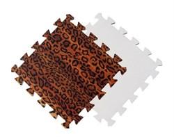 Мягкий пол 30*30*1 см Леопард - фото 18527
