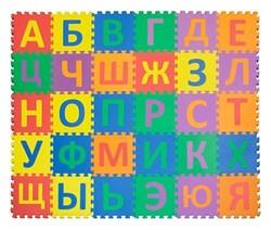 """Коврик-пазл Funkids 12"""" с русскими буквами """"Алфавит-2"""", 30 плит, 30х30х1,5 см - фото 18807"""