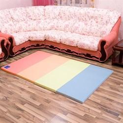 """Детский игровой складной коврик AlzipMat """"Color Folder SG"""" 240Х140Х4 см - фото 20526"""