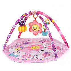 "Развивающий коврик для новорожденного Funkids ""Rosie Sun Gym"" - фото 25155"