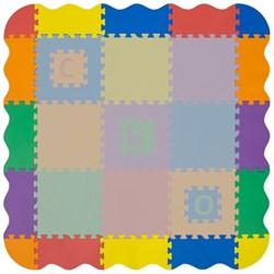 Набор декоративных бортиков-бордюров Funkids для ковриков-пазлов, серия NT, 16 частей - фото 26043