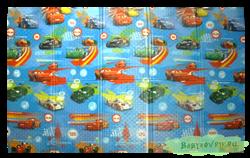 "Детский развивающий игровой складной коврик ЮРИМ (односторонний) ""Тачки"" 200х140х0,8см - фото 4722"