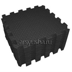 """Коврик-пазл BABYPUZZ (9 плит 33x33x2см, ~1кв.м./уп) """"Черный"""" - фото 476382"""