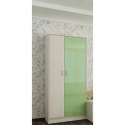 Шкаф для одежды Буратино, 800х520х1950, зеленый - фото 487284