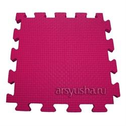 "Коврик-пазл BABYPUZZ (4 плиты 50x50x1см, 1кв.м./уп) ""Розовый"" - фото 488449"