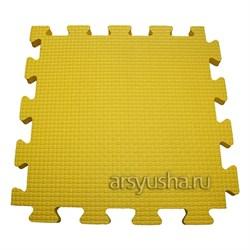 "Коврик-пазл BABYPUZZ (4 плиты 50x50x1см, 1кв.м./уп) ""Желтый"" - фото 488450"