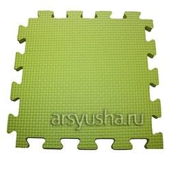 """Коврик-пазл BABYPUZZ (4 плиты 50x50x1см, 1кв.м./уп) """"Салатовый"""" - фото 488451"""