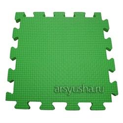 "Коврик-пазл BABYPUZZ (4 плиты 50x50x1см, 1кв.м./уп) ""Зеленый"" - фото 488455"