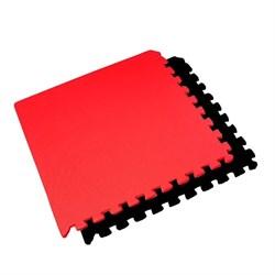 """Коврик-пазл BABYPUZZ (4 плиты 60x60x0,9см, 1,44кв.м./уп) """"Черно-красный"""" - фото 507693"""