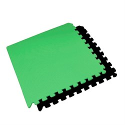 "Коврик-пазл BABYPUZZ (4 плиты 60x60x0,9см, 1,44кв.м./уп) ""Черно-зеленый"" - фото 507695"