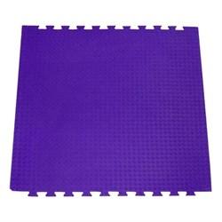 "Будо-мат (татами) BABYPUZZ (1 плита 100x100x2,5см, 1кв.м./уп) ""Фиолетовый"" - фото 528371"