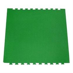 "Будо-мат (татами) BABYPUZZ (1 плита 100x100x2,5см, 1кв.м./уп) ""Зеленый"" - фото 528377"