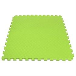 "Будо-мат (татами) BABYPUZZ (1 плита 100x100x4см, 1кв.м./уп) ""Салатовый"" - фото 528382"